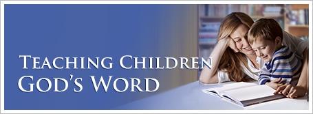 Teaching Children God's Word