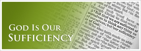 God Is Our Sufficiency