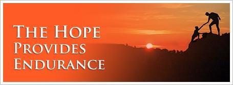 The Hope Provides Endurance