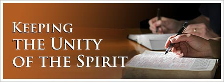 Keeping the Unity of the Spirit