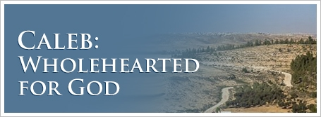 Caleb:  Wholehearted for God