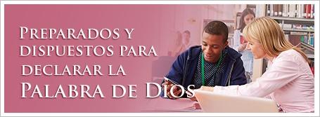 Preparados y dispuestos para declarar la Palabra de Dios