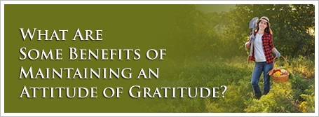 What Are Some Benefits of Maintaining an Attitude of Gratitude?